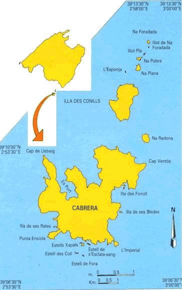 Isla De Cabrera Mapa.Aventura Ib Bucear En Mallorca Cabrera Bucear En